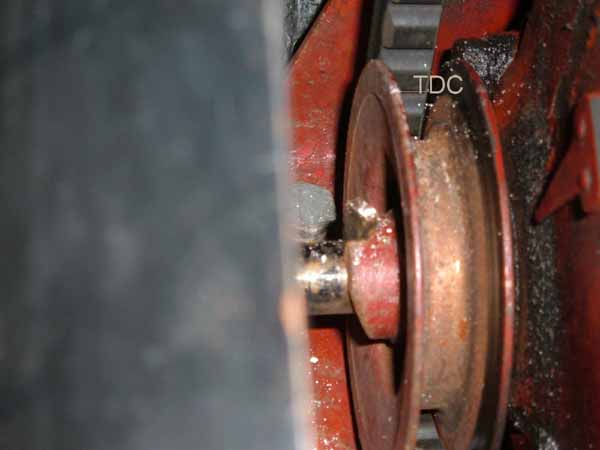 8n Ford Tractor Timing Marks : Static timing of pertronix igniter