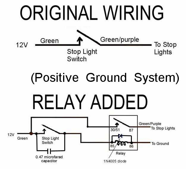 BrakeLightRelay_Pos brake light relay installation Understanding Diodes at reclaimingppi.co