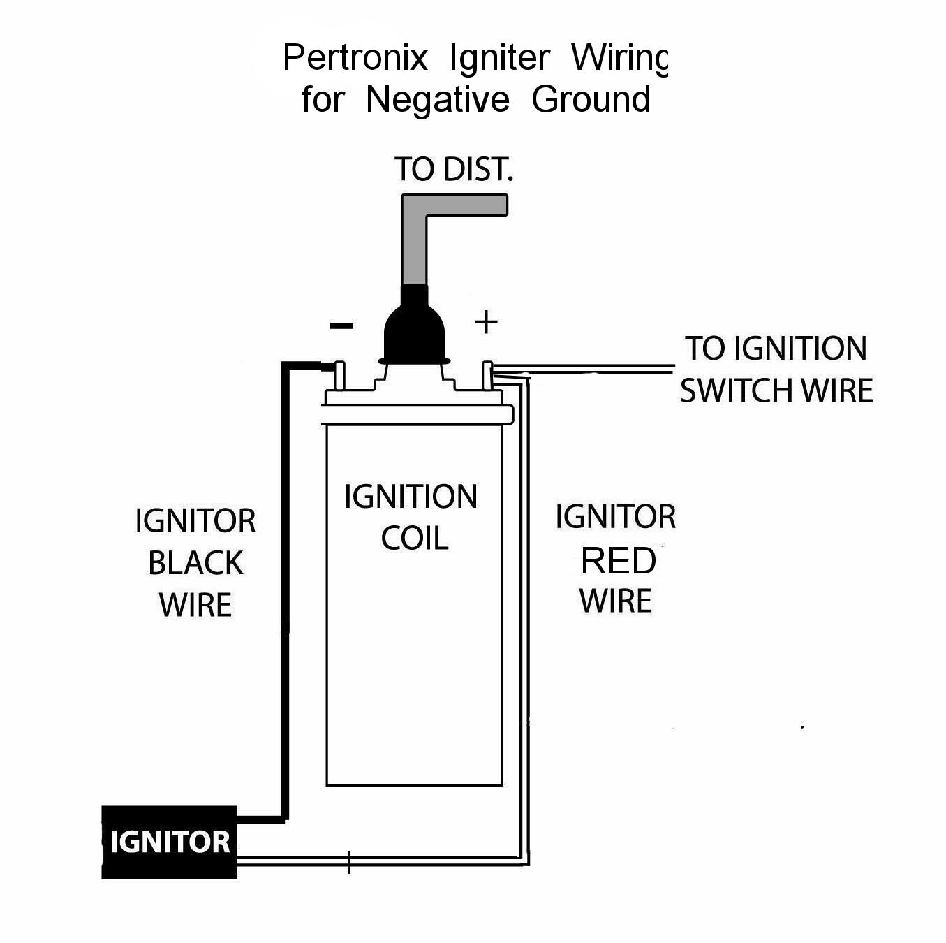 pertronix negative ground wiring